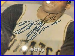Roberto Clemente Pittsburgh Pirates Signed 8x10 Photo Framed Jsa