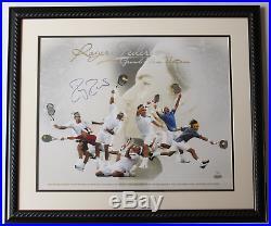Roger Federer signed autographed framed limited edition 16x20 photo! Steiner COA