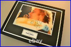 Roger Taylor Signed Framed Photo 16x12 Display Queen Memorabilia Autograph COA