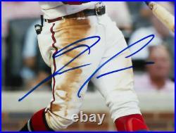 Ronald Acuna Jr. Signed Framed Atlanta Braves 8x10 Baseball Photo JSA ITP