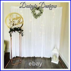 Rose Gold Copper Wedding Frame For Signs & Photo Backdrops balloon displays