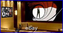SEAN CONNERY Signed 007 Autograph, CRAIG 6 JAMES BOND, COA, Frame, UACC, DVD