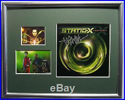 SIGNED WAYNE STATIC X AUTOGRAPHED CD FRAMED WithPIC NICE