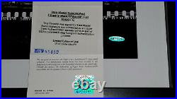 STAN MUSIAL Signed UDA Shadowbox Framed Large Photo Filmstrip SP Auto HOF #/206