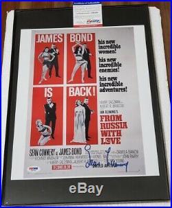 Sean Connery James Bond signed 11x14 Photo PSA DNA (No Frame)