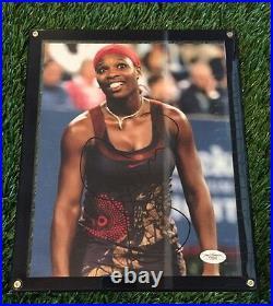 Serena Williams Signed Autograph Auto Photo Framed Jsa/coa Rare