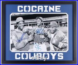 Signed & Framed cocaine Cowboys, Mike Tyson, Doc Gooden, Daryl Strawberry WithCOA
