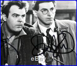Signed Ghostbusters MURRAY, RAMIS, AYKROYD, HUDSON Autograph, COA, UACC, FRAME