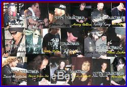 Signed Motorhead Lemmy Kilmister Autographed 11x14 Photo Framed Jsa Loa Z91067
