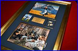 Signed SOUND OF MUSIC Julie Andrews + Entire CAST Autographs, COA UACC Frame DVD