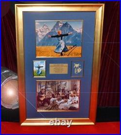 Signed Sound of Music CHRISTOPHER PLUMMER +Entire CAST Autographs, COA Frame DVD