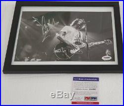 Soundgarden Chris Cornell (Grunge) signed 8x10 Photo PSA DNA (Framed)