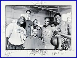 Space Jam (7) Jordan, Barkley, Ewing Signed & Framed 18x24 Photo LE #2/9 BAS LOA
