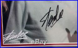 Stan Lee Signed Autographed Marvel Comics 11x17 Photo Framed Psa/dna #ae40385