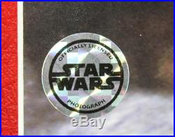 Star Wars Ian McDiarmid & David Prowse Signed 20x30 Framed Photo BAS #A89656