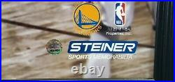 Stephen Curry Signed Autographed 16x20 Framed Photo vs Lebron James 13/100