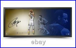 Stephen Curry Signed Autographed 20X46 Framed Photo The Show Fluid Warriors UDA