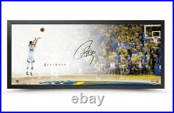 Stephen Curry Signed Autographed 20X46 Framed Photo The Show Lay-up Warriors UDA
