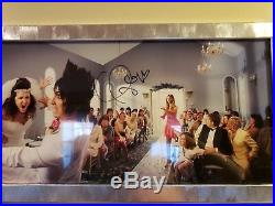 Taylor Swift Signed 13x28 Framed Photo Autographed Authentic Speak Now Limited