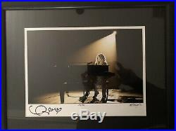 Taylor Swift Signed Piano Print Framed Ash Newell Deluxe Photograph 11x14