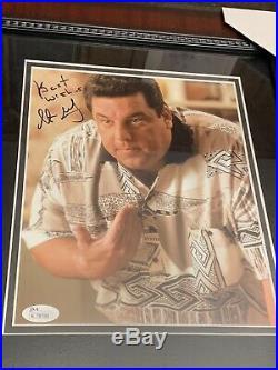 The Sopranos James Gandolfini Tony Sirico + Autographed Signed Framed Photo JSA