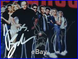 The Sopranos Matted & Framed Autographed Photo Signed by 7 Cast Members