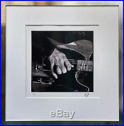 Timothy White Bruce Springsteen, Hand, Mailibu, Ca, 1991 Rare Signed Print