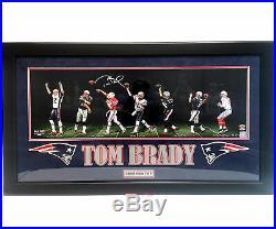 Tom Brady Signed Photo 36x12 Custom Framed Patriots Player's Edition 5/9 TRISTAR