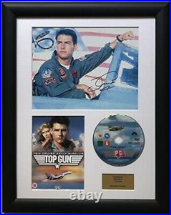 Tom Cruise / Top Gun / Signed Photo / Autograph / Framed / COA