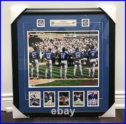 Toronto Blue Jays 1993 WAMCO 16x20 Signed Photograph Baseball Holofoil Framed