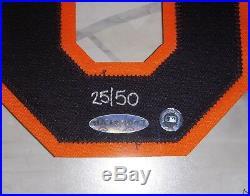 UDA Cal Ripken Jr Upper Deck Signed Numbers Framed LE 25/50 Orioles RARE