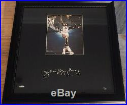 UDA JULIUS ERVING Autographed Signed'Gallery Piece Photo LE 9/72 RARE UDA