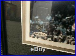 UDA MICHAEL JORDAN SIGNED THE SHOES FRAMED 16x20 CHICAGO BULLS LE 91/123