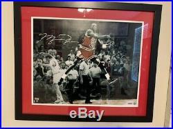 UDA Michael Jordan Signed Framed Photo-ONE DAY SALE
