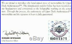 Uda Kobe Bryant Happy Holidays Autographed-signed 8x10 Framed Photo Upper Deck