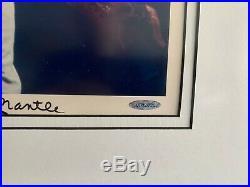 Upper Deck Mickey Mantle/Neil Leifer Signed Limited Edition UDA Framed Photo