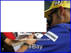 Valentino Rossi Signed 8X12 Inches Yamaha MotoGP Photo Frame