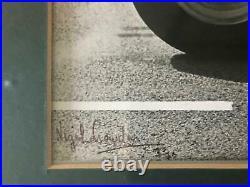 Very Rare signed Jim Clark framed 62x 62photo montage Stunning Formula 1