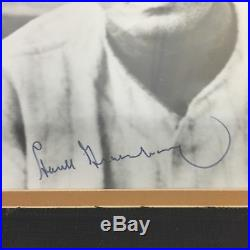 Vintage 1940's Hank Greenberg Signed Autographed 8x10 Photo Framed PSA DNA