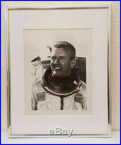Vintage Joseph A. Walker X-15 Nasa & Usaf Test Pilot Signed & Framed 8×10 Photo