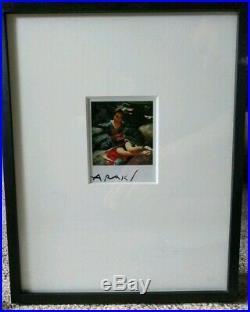 Vintage Signed NOBUYOSHI ARAKI 1980s Polaroid Japanese Gaga Bondage SX-70