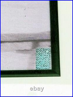 WAYNE GRETZKY signed auto framed 16 x 20 photo withGretzky COA 24 x 29 frame